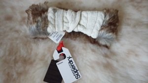 Superdry Lurex Fur Herder Stirnband Ice Meliert *** NEU ***