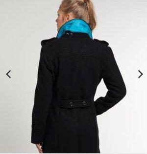 superdry mantel schwarz m