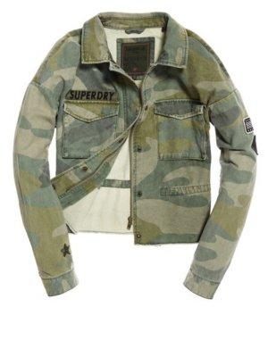 Superdry Chaqueta militar multicolor