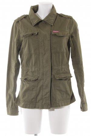 Superdry Military Jacket olive green military look