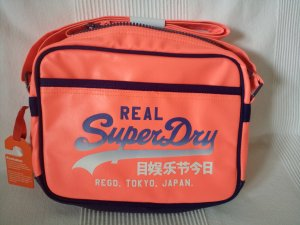 Superdry Sports Bag multicolored polyester