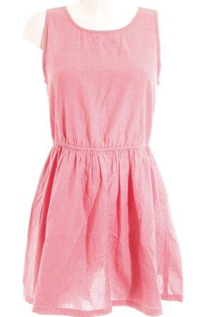 Superdry Minikleid rosa Webmuster Beach-Look