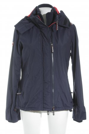 Superdry Outdoor Jacket dark blue-red athletic style