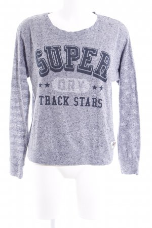 Superdry Oversized Pullover meliert Casual-Look