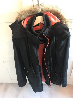 Superdry Parka noir-orange