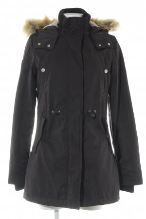 Superdry Parka schwarz Casual-Look