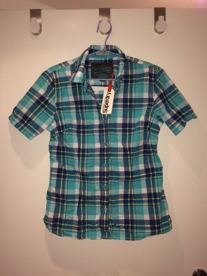 Superdry Geruite blouse veelkleurig