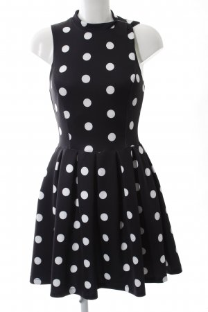 Superdry Petticoat Dress black-white allover print casual look