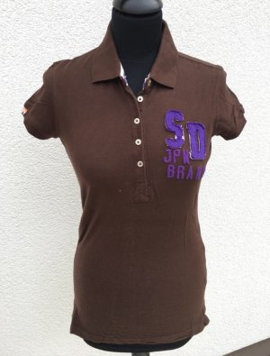 Superdry Polo Shirt multicolored cotton
