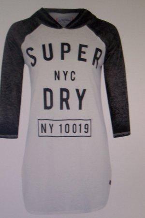 Superdry Printshirt mit Kapuze Gr. L