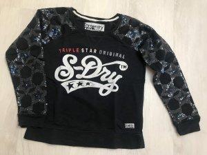 Superdry Sweatshirt donkerblauw