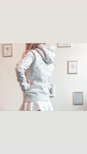 Superdry Long Cardigan silver-colored-light grey