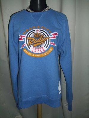 Superdry Pullover in blau Größe L