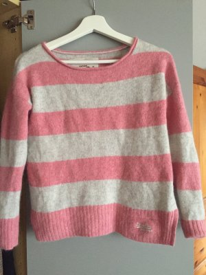 Superdry Pullover Rosa Weiß XS