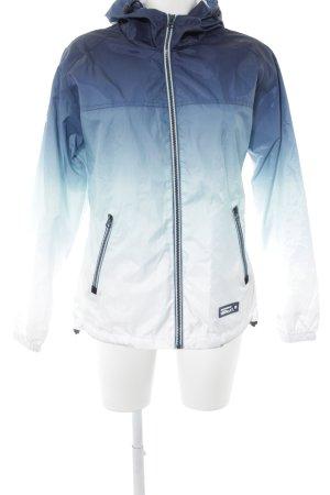 Superdry Raincoat blue color gradient casual look