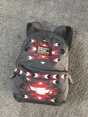 Superdry Mochila escolar multicolor