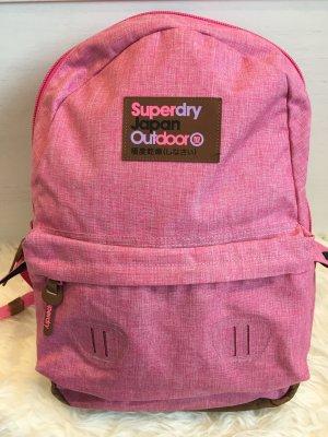 Superdry Rucksack in rosa pink