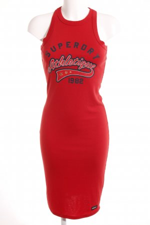 Superdry Tube Dress printed lettering street-fashion look