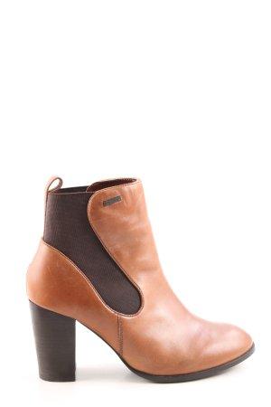 Superdry Slip-on Booties bronze-colored-light orange casual look