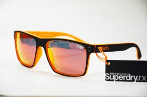Superdry Sds Kobe 127 Damen Kunststoff orange Sonnenbrille, Neu