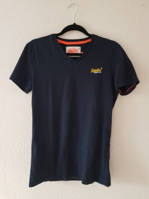 Superdry Shirt Dunkelblau Gr. S