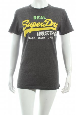 Superdry Shirt grau Casual-Look