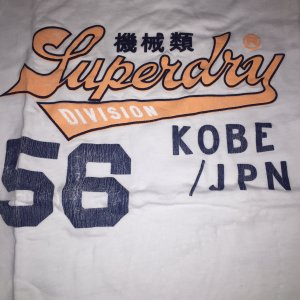SuperDry Shirt / Größe M