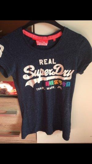 Superdry Shirt in Blau