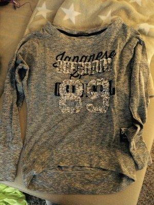 Superdry Shirt mit Glitzer Aufdruck