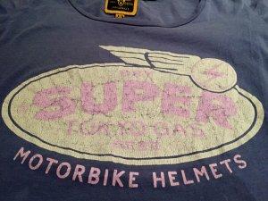 Superdry Shirt mit Motorbike Print