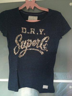 Superdry Shirt mit Pailletten
