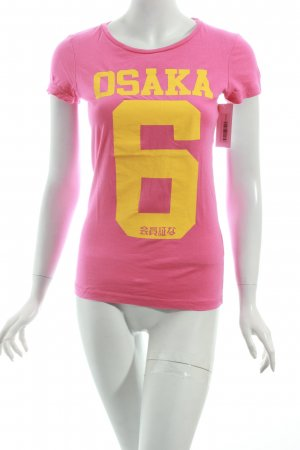 Superdry Shirt pink Casual-Look