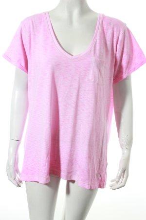 Superdry Shirt pink schlichter Stil