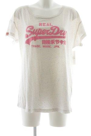 Superdry Shirt rosé-pink Street-Fashion-Look