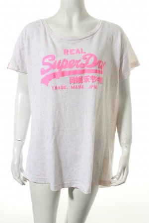 Superdry Shirt rosé-pink Street-Fashion-Look