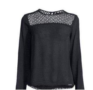 Superdry Shirt schwarz, Gr. S