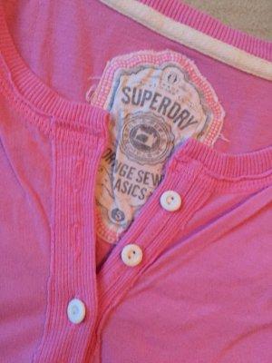 Superdry shirt sleeve rosa neu S