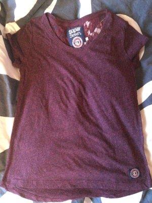 Superdry Shirt XS dunkelrot