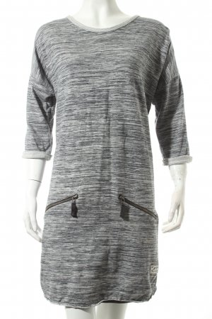 Superdry Shirtkleid grau-hellgrau Casual-Look