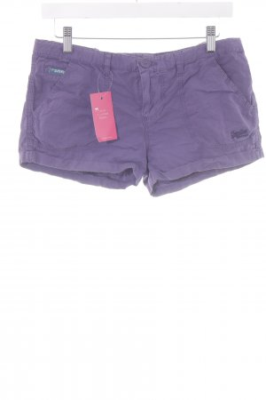 Superdry Shorts lila Beach-Look