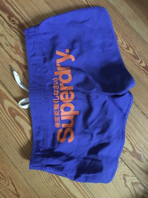 SuperDry Shorts Lila