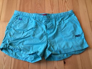 Superdry Short lichtblauw