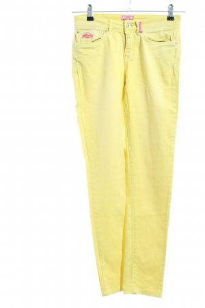 "Superdry Skinny Jeans ""Standart Skinny"" blassgelb"