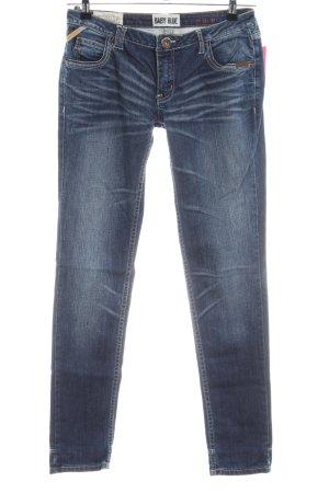 Superdry Skinny Jeans blau Casual-Look