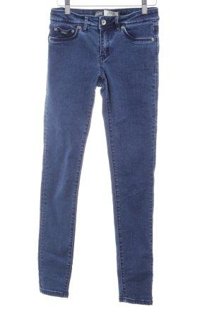 Superdry Jeans skinny bleu foncé-gris ardoise style simple