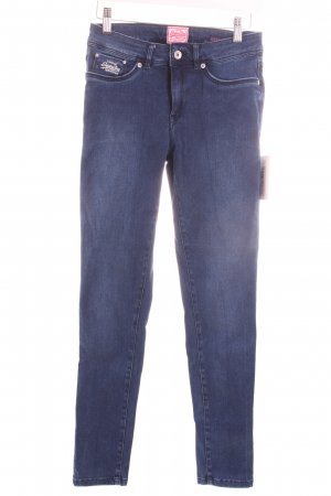 "Superdry Skinny Jeans ""Second Skin "" blau"