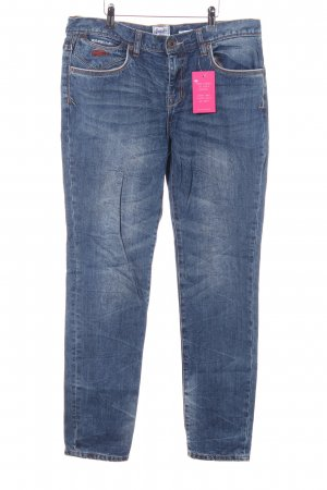 Superdry Slim Jeans blau Casual-Look