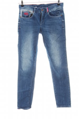 Superdry Vaquero slim azul look casual