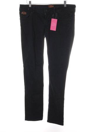 Superdry Slim Jeans schwarz Casual-Look