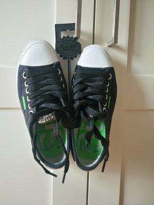 Superdry Sneakers Gr. 36 schwarz Grün